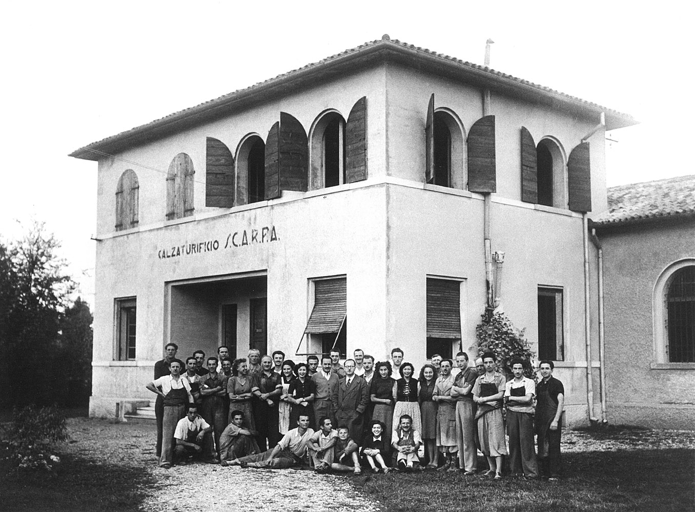 <span><b>1950s</b>After world war two in the area many outdoor footwear companies started doing business between Asolo and Montebelluna.</span>