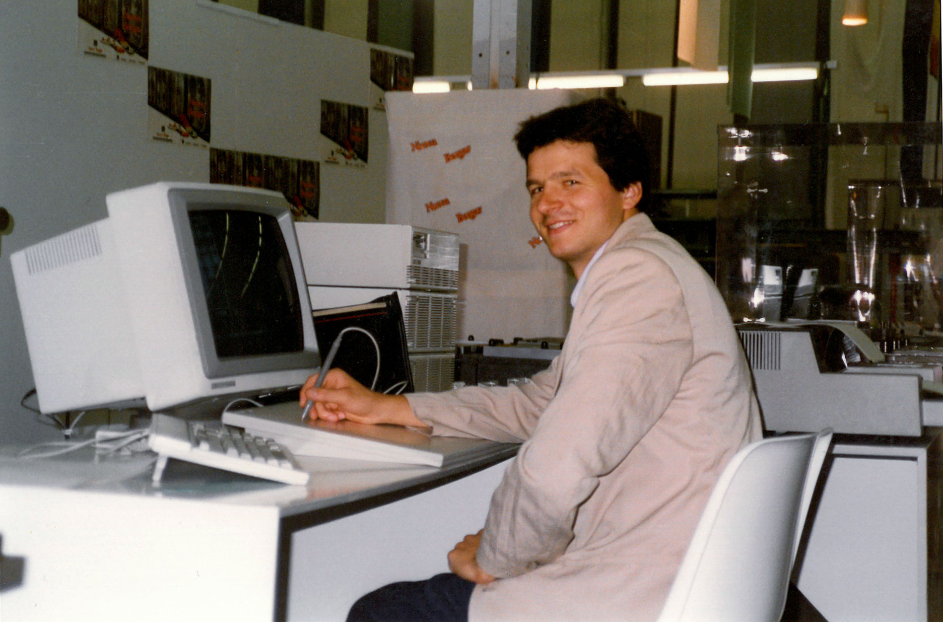 <span><b>1990</b>Claudio Franco goes solo, starting to provide design and pattern engineering services for third parties. </span>